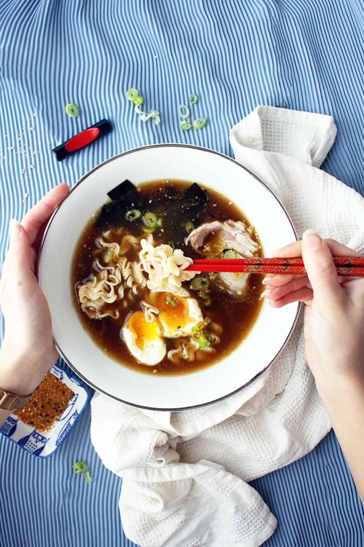 Ramen Giapponese Ricetta Autentica del Ramen di Pollo del