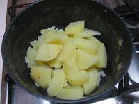 Crema di patate yogurt e salmone affumicato
