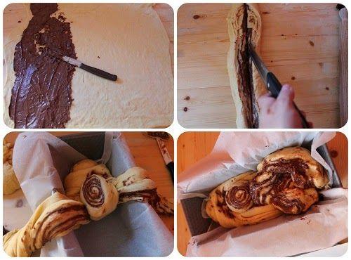 come preparare la brioche alla nutella
