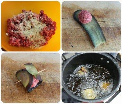 Polpette in crosta di melanzane con sugo di pomodoro