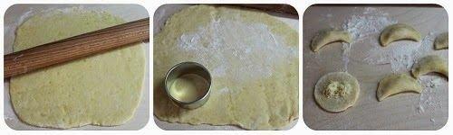 Gnocchi ripieni di formaggio Le Gruyèr con crema di sedano e pere