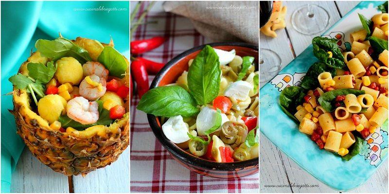 ricette insalate estive e piatti unici