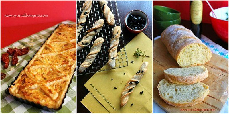 ricette pane, pizza, focacce e torte salate