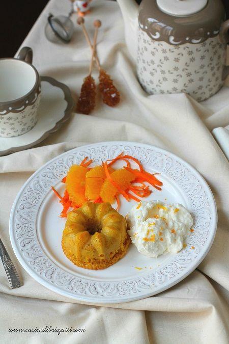 tortino carote semifreddo arancia
