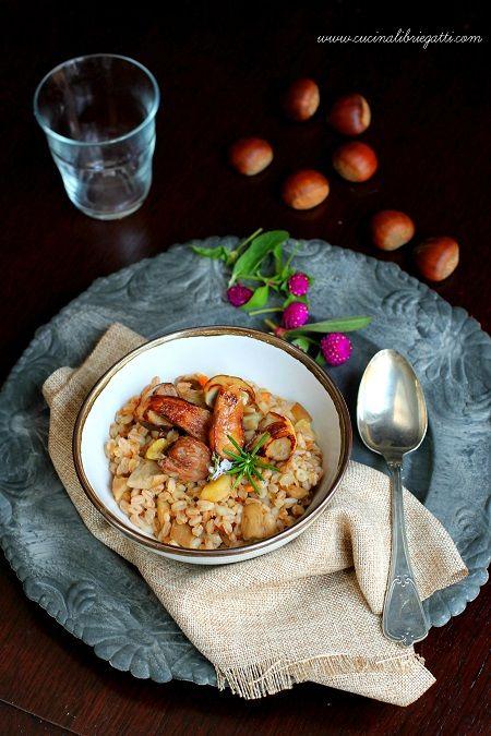 zuppa farro castagne