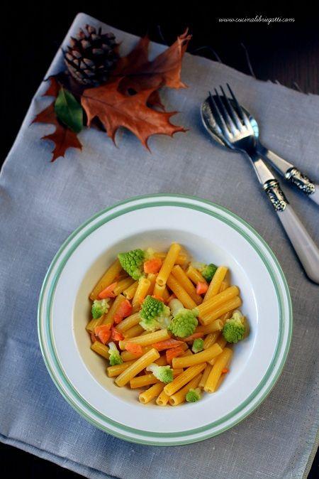 pasta broccoli trota