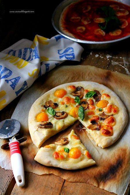 Pizza lunga lievitazione 24 ore