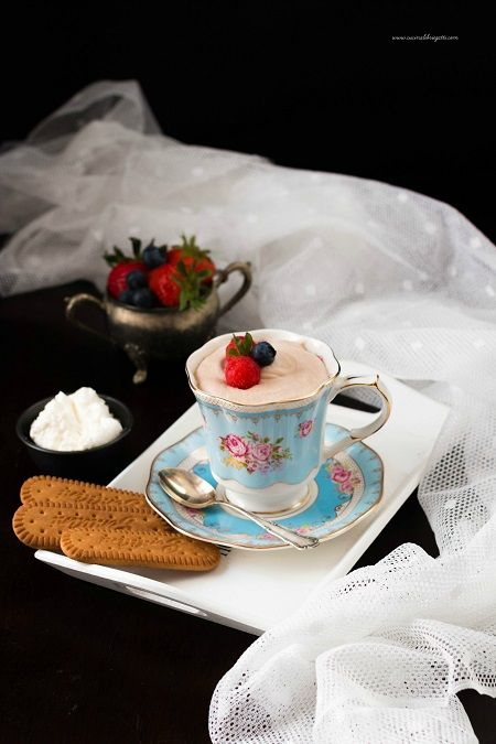 Mousse al caffè e yogurt