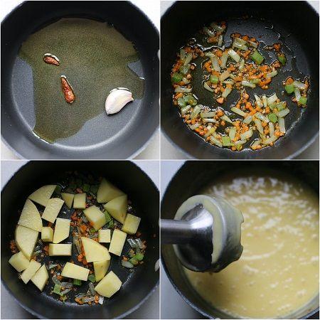 come preparare la pasta e patate alla napoletana