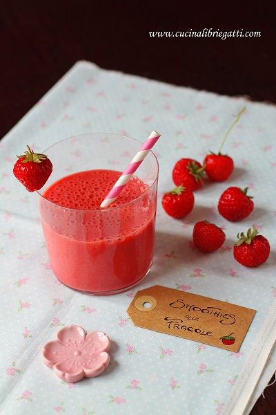 smoothie fragole