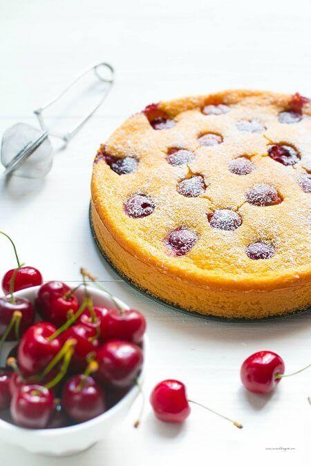 torte con ciliegie