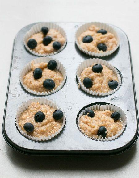 come fare muffin ai mirtilli