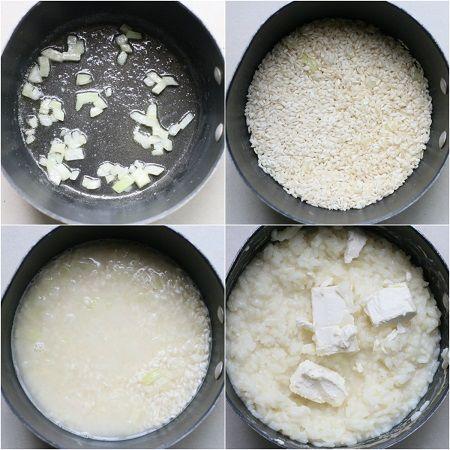come preparare il risotto al formaggio