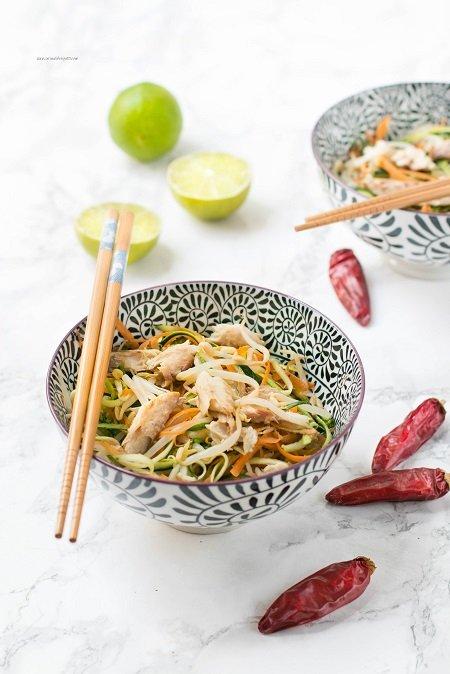 insalata germogli di soia