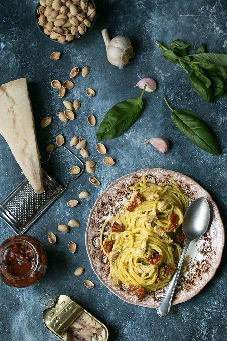 ricetta pesto di pistacchi
