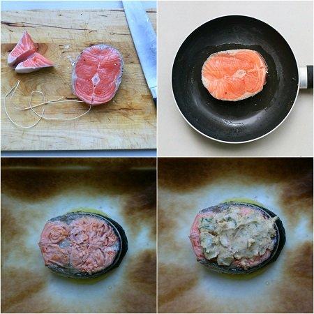 ricetta tournedos di salmone