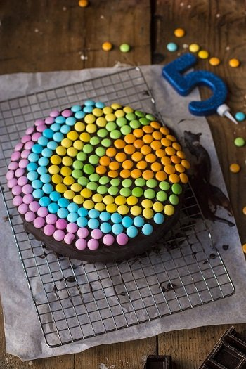 torta con smarties