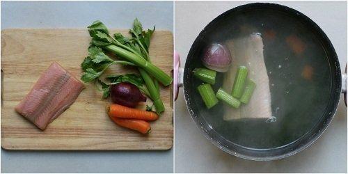 come si prepara il risotto al samone