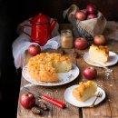 torta di mele rovesciata