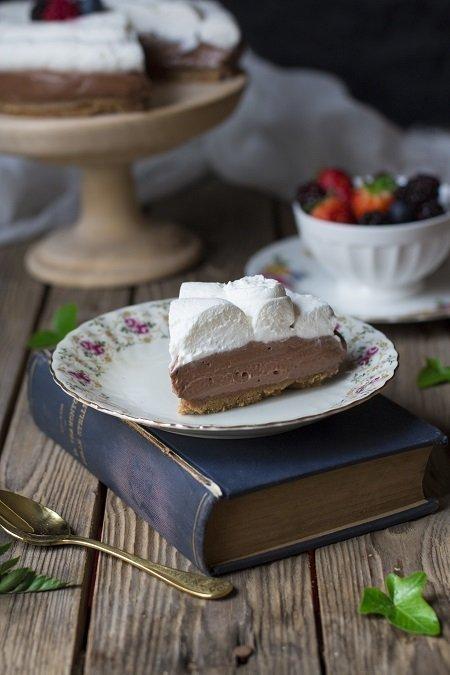 cheesecake alla nutella  e mascarpone