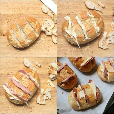 come fare il pane ripieno