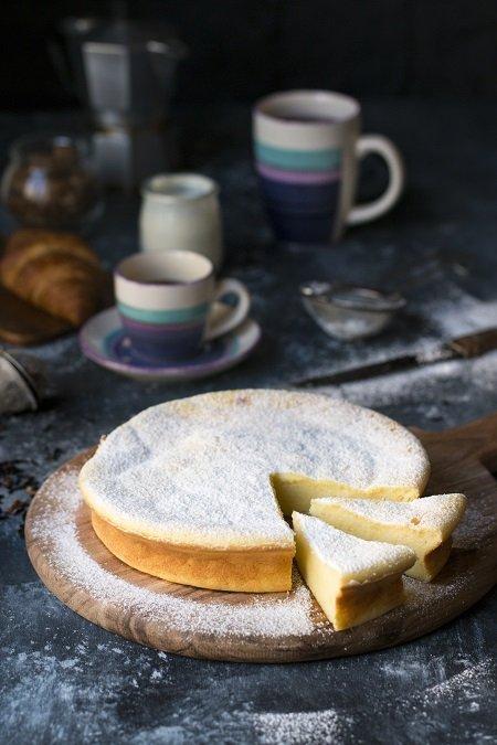 torta alla ricotta e limone