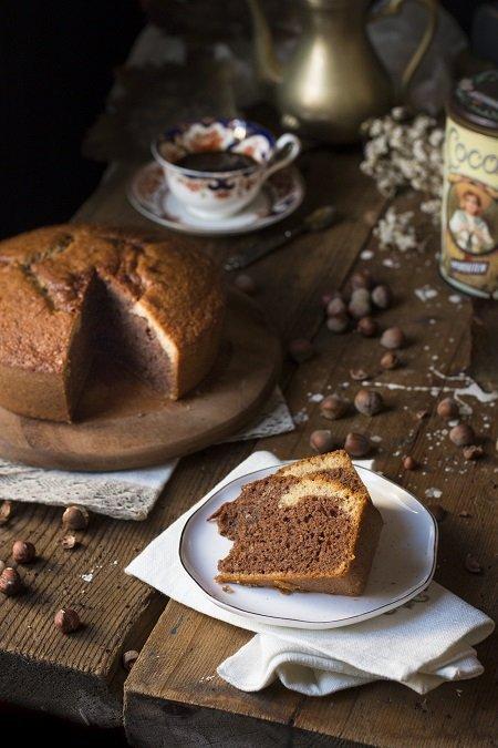 torta con farina di nocciole
