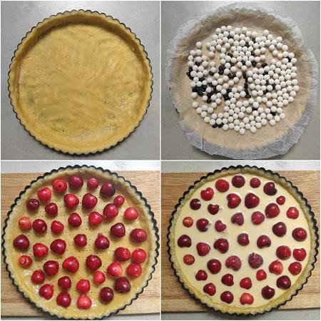come fare una crostata di ciliegie