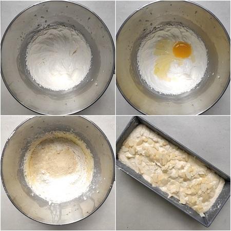 come si prepara il plumcake alle mandorle