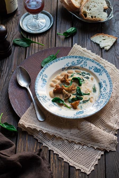 zuppa di fagioli cannellini