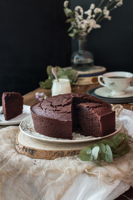 torta yogurt e cioccolato