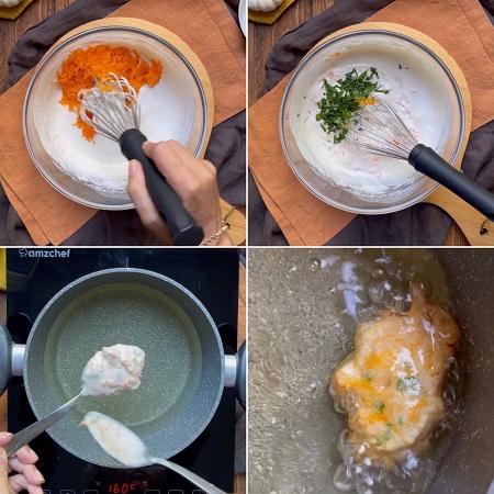 come fare le frittelle di zucca salate