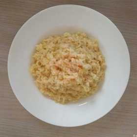 Un piatto ricco di gusto: un risotto formaggio Brancaleone e arancia