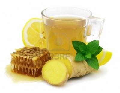 Influenza, il tè al ginger pozione potente