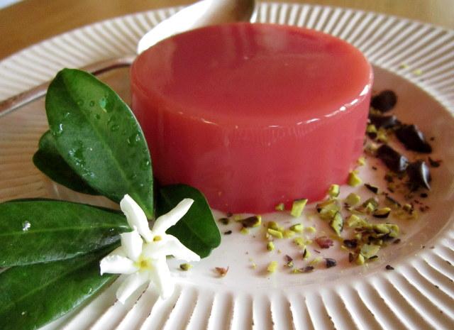 Budino di anguria, alias 'gelu i muluni'