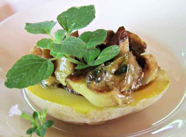 Funghi e patate, un appetitoso e insolito finger food autunnale