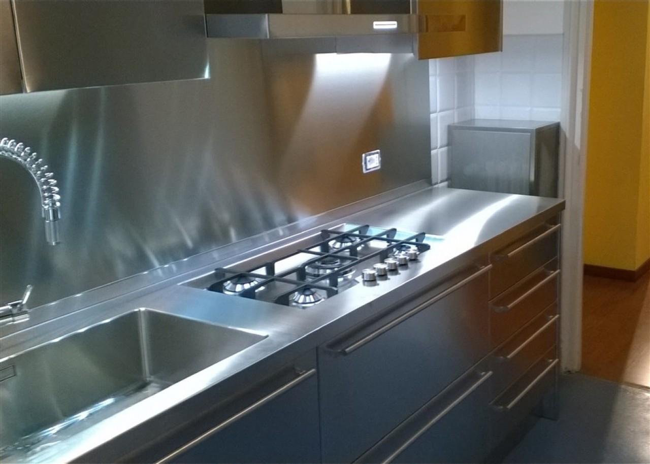 Cucina Acciaio Inox | Batteria Cucina Chic In Acciaio Inox 36 Pezzi