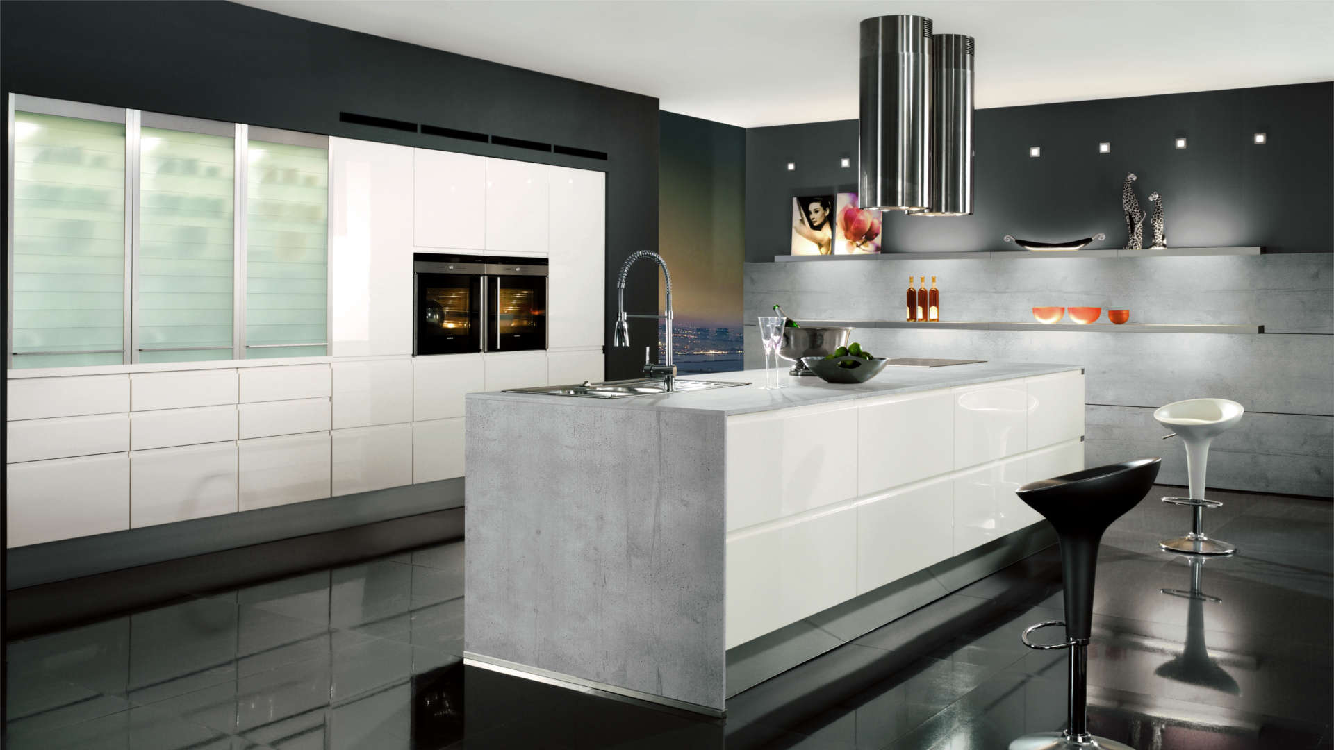 Cucine Moderne A Parete