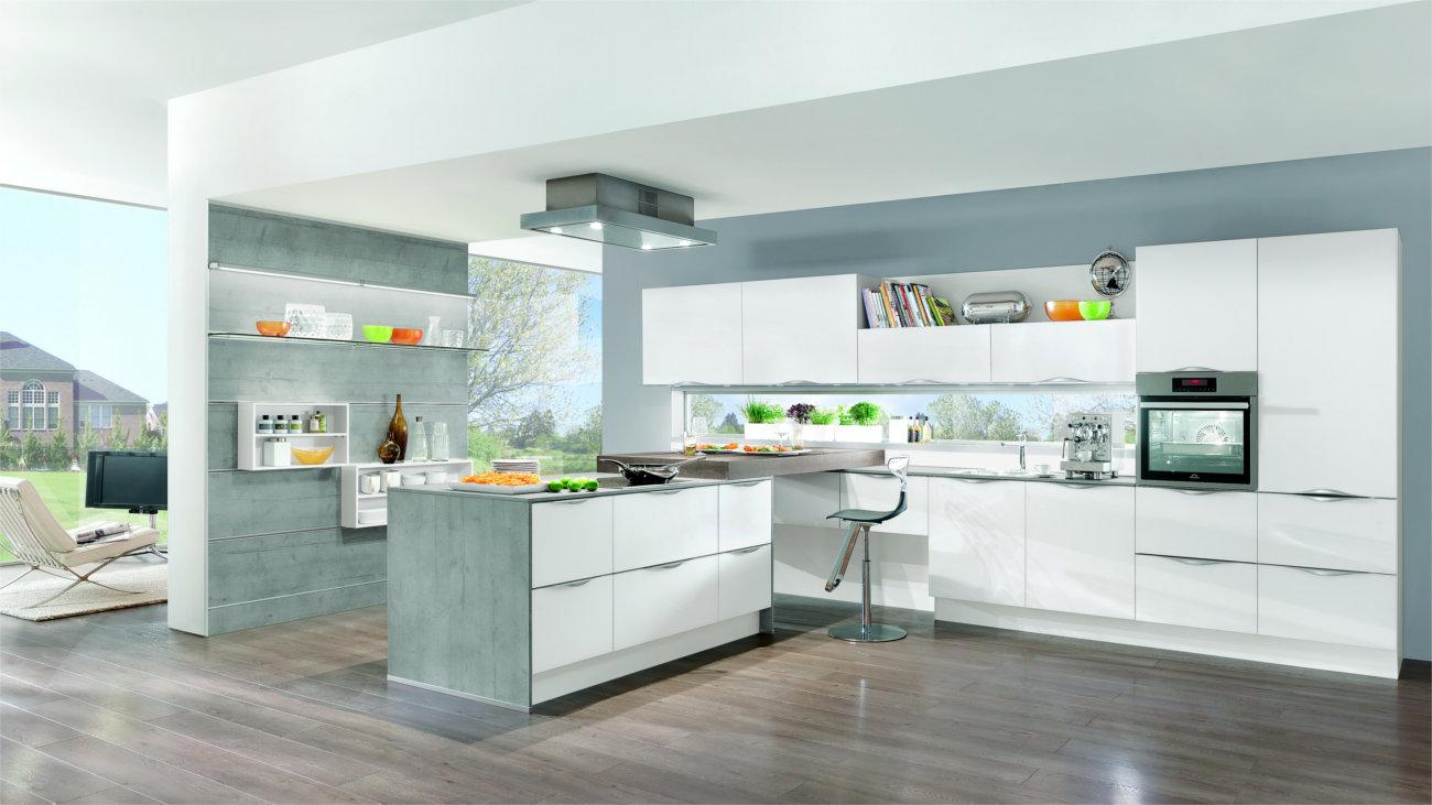 Cucine con penisola moderne e capienti  Clara Cucine