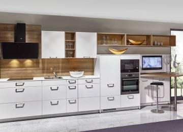 Cucina Lineare Bianca   2019 Cucine Componibili Usate Torino Image ...