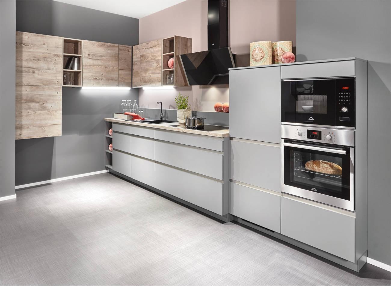 Cucine moderne lineari personalizzate e funzionali  Clara