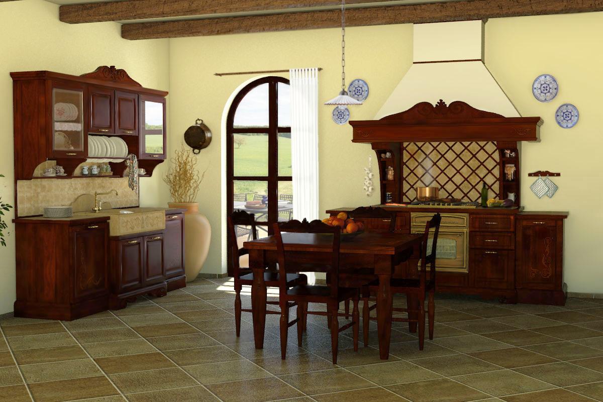 Cucine della Nonna  Cucine classiche in legno massello