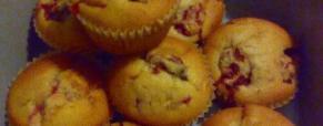 Muffin yogurt e frutti di bosco