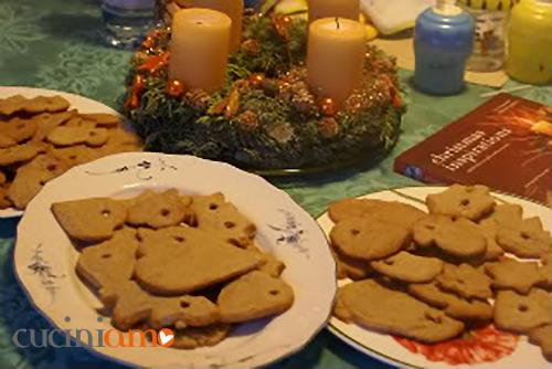 Gingerbread per l'albero di Natale