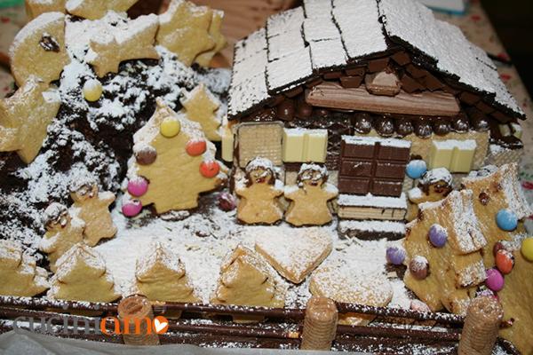 Torta paesaggio natalizio  CuciniAmO