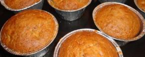 muffin mele noci e cannella