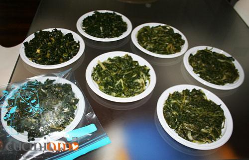 verdure da congelare