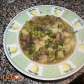 zuppa di funghi (vegan)