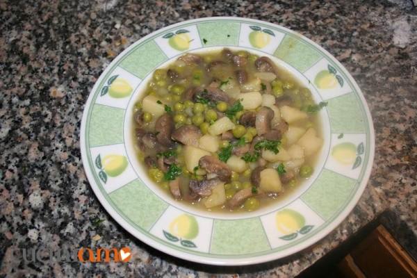 zuppa porcini