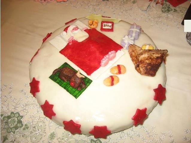 Torta Babbo NataleTorta Babbo Natale